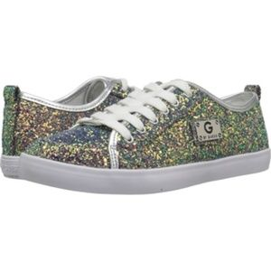 G By Guess Mallory2 Mermaid Glitter Sneakers